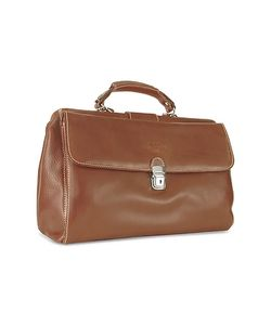 Robe di Firenze | Medium Genuine Italian Leather Doctor Bag