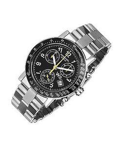Raymond Weil   W1 Stainless Steel Chronograph Watch W/ Tachymetre