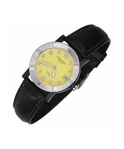 Raymond Weil | Parsifal W1 Womens Stainless Steel Leather Date Watch