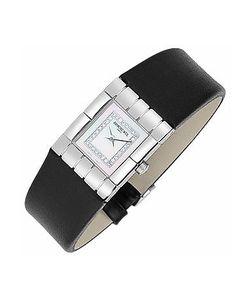 Raymond Weil   Tema Ladies Diamond River Leather Band Watch