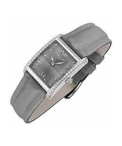 Raymond Weil | Don Giovanni Diamond Frame Satin Gray Band Dress Watch