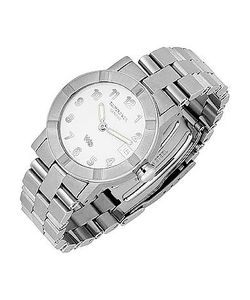 Raymond Weil   Parsifal W1 Womens White Dial Stainless Steel Date Watch
