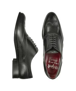 Fratelli Borgioli | Handmade Italian Leather Wingtip Oxford Shoes