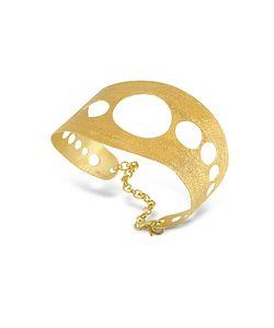 Stefano Patriarchi | En Silver Etched Cut Out Cuff Bracelet