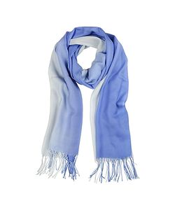 Mila Schon | Gradient /Light Wool And Cashmere Stole