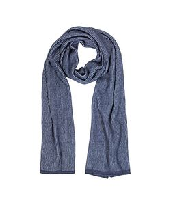 Mila Schon | /Light Stripe Wool Blend Long Scarf