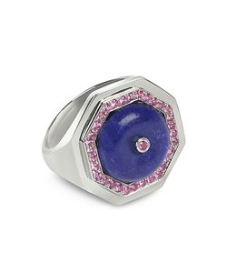 Sho London   Lapis Lazuli Clementina Ring