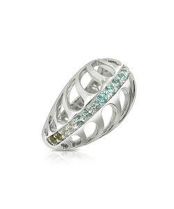 Sho London   Sterling Mari Rush Ring