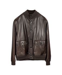 Schiatti & Co. | Mens Leather Jacket W/Chasmere Lining