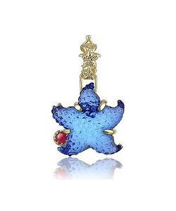 Tagliamonte | Marina Collection Starfish Ruby 18k Gold Pendant