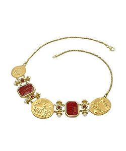 Tagliamonte | Classics Collection 18k And Ruby Necklace