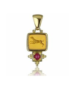 Tagliamonte | Classics Collection 18k Gold And Ruby Pendant