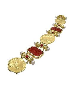 Tagliamonte | Classics Collection 18k And Ruby Link Bracelet