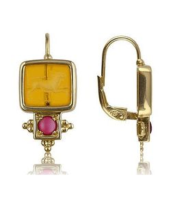 Tagliamonte | Classics Collection Ruby And 18k Gold Earrings
