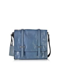 The Bridge | Light Leather Messenger Bag
