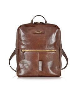 The Bridge   Passpartout Marrone Leather Backpack