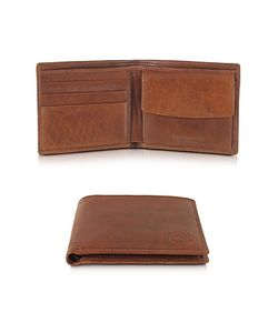 The Bridge | Story Uomo Leather Billfold Wallet W/Coin Pocket
