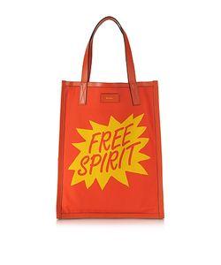 Paul Smith   Mens And Yellow Free Spirit Print Tote Bag