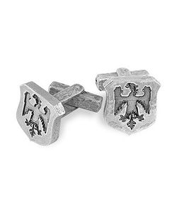 Torrini | Sterling Silver Eagle-Crest Cufflinks