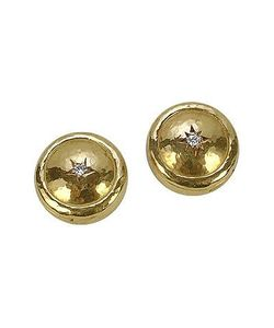 Torrini | 18k Gold And Diamond Star Button Covers