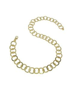 Torrini | Tuscania 18k Gold Large Chiselled Chain