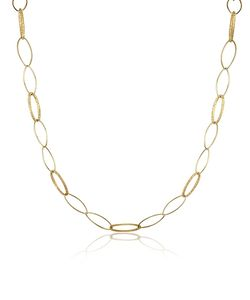 Torrini | Marina 18k Yellow Oval Link Necklace