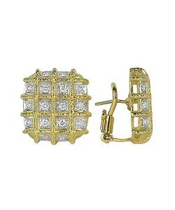 Torrini | Wallstreet 18k Yellow Diamond Earrings