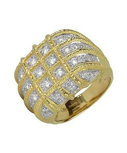 Torrini | Wallstreet 18k Yellow Diamond Ring