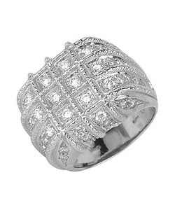 Torrini | Wallstreet 18k White Gold Diamond Ring