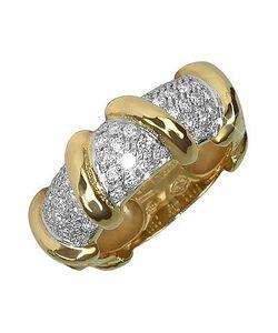 Torrini | Twister 18k Yellow Diamond Ring