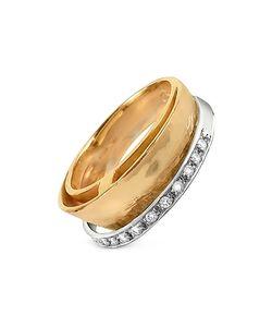 Torrini | Tama Diamond Channel 18k Yellow Band Ring