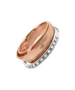 Torrini | Tama Diamond Channel 18k Rose Band Ring