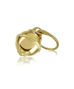 Torrini | Ball 18k Yellow Diamond Charm Ring