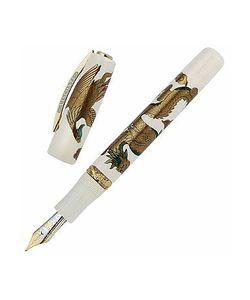 Visconti | Dragon Phoenix Maki-E Limited Edition Celluloid Fountain Pen