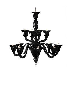 Voltolina | Laguna Murano Handmade Glass 12-Arm Chandelier