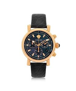 Versace | And Gold Womens Chronograph Watch