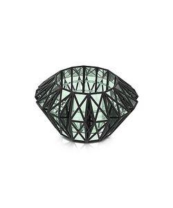 VOJD STUDIOS | Translucent Glass Cage Cuff