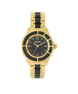 Versace Versus | Tokyo 38 Gold And Resin Womens Watch
