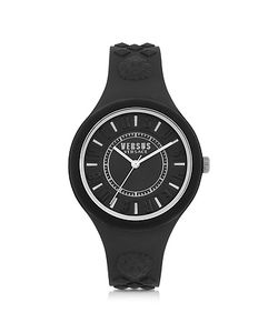 Versace Versus | Fire Island Silicon And Silver Tone Stainless Steel Womens Watch