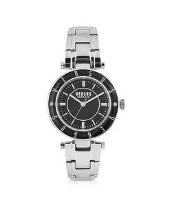 Versace Versus | Logo Tone Stainless Steel Womens Bracelet Watch