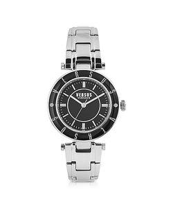 Versace Versus | Logo Tone Stainless Steel Womens Bracelet Watch