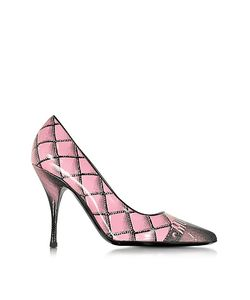 Moschino | Printed Leather Pump