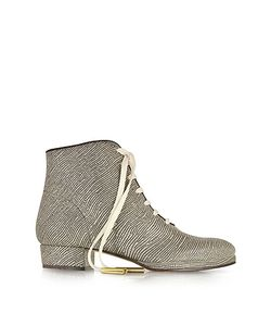 Zoe Lee | Zachary Lizard Embossed Lace Up Bootie