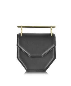M2Malletier | Mini Amor Fati Black Leather Crossbody Bag
