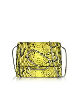 3.1 Phillip Lim | Alix Anaconda Print Leather Micro Crossbody Bag