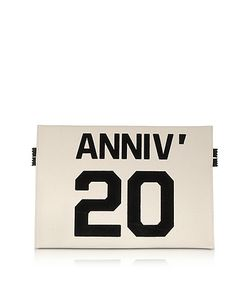 MM6 Maison Martin Margiela | Anniversary 20 Canvas Flat Clutch