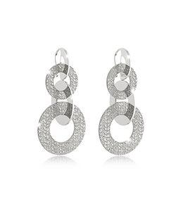 Rebecca | R-Zero Rhodium Over Bronze Dangle Earrings