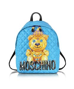 Moschino | Teddy Bear Quilted Nylon Backpack