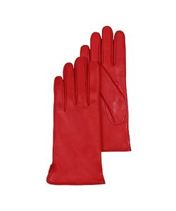 Forzieri | Leather Gloves W/Cashmere Lining