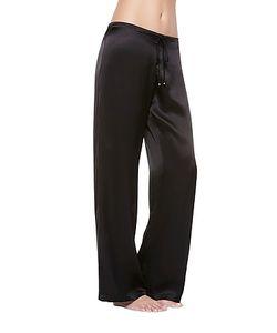 La Perla | Petit Macrame Satin Silk Classic Trousers